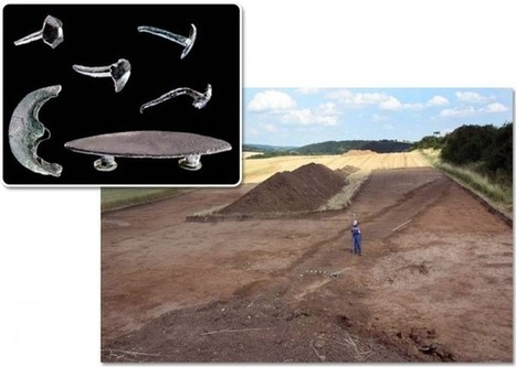 Ancient Roman Military Camp Unearthed in Eastern Germany | UK DETECTOR NET Latest News | Scoop.it