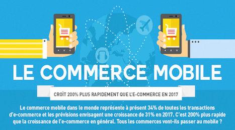 Le commerce mobile croît 200% plus vite que l'e-commerce [Infographie] - Le Cadre Digital | STORE & DIGITAL | Scoop.it