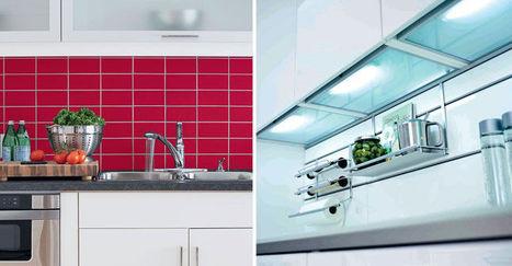 Quels matériaux et accessoires pour une nouvelle crédence de cuisine ? | IMMOBILIER 2015 | Scoop.it
