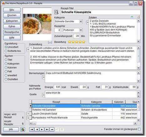 Das kleine Rezeptbuch - Paules-PC-Forum - Windows Community | #Freeware | Best Freeware Software | Scoop.it