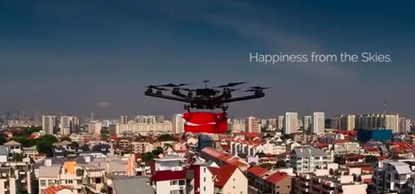 Coke Delivers Drinks & Thanks Via Drones To Skyscraper Workers | JWT WOW | Scoop.it
