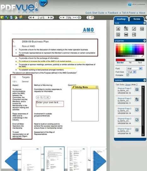 Editing PDF Files Online | PDFVue | EDTECH - DIGITAL WORLDS - MEDIA LITERACY | Scoop.it