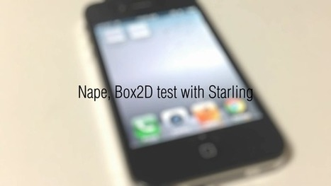 Nape, Box2D test with Starling | sewonist.com | test | Scoop.it