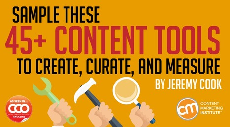 Sample These 45+ Content Tools to Create, Curate, and Measure | 21st_Century Good: Social and Content | Scoop.it