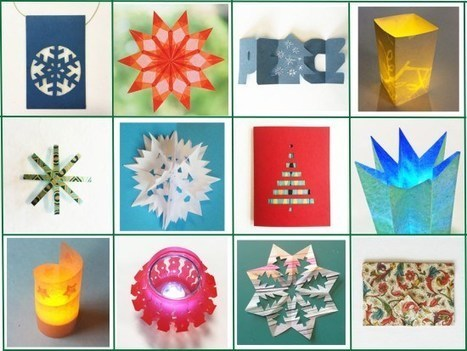 25 Days of paper projects | Crafts and creativity | Scoop.it