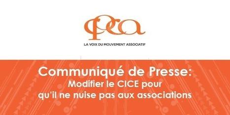 Communiqué de la CPCA : Modifier le CICE pour qu'il ne nuise pas aux associations | CPCA | Tourisme Social et Solidaire | Scoop.it