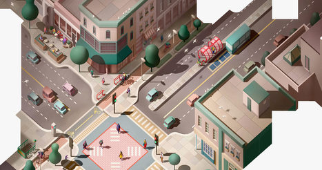 16 Ways to Design a Better City Intersection | Real Estate Plus+ Daily News | Scoop.it