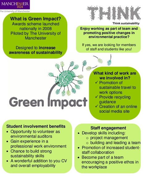 Want to join Green Impact? | The Michael Smith Building - Green Impact | Scoop.it