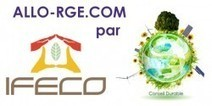 Calendrier & tarifs de nos formations RGE | Allo RGE | Avec IFECO devenez RGE ! | Scoop.it