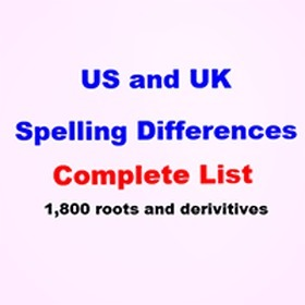 List of American and British spelling differences | MyThesis Hub | Scoop.it