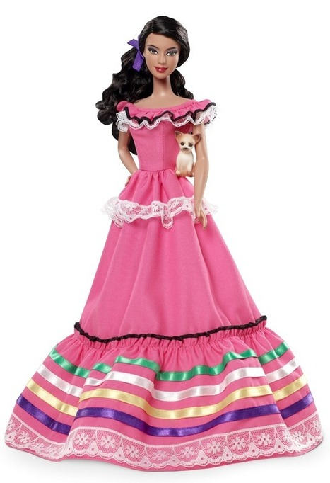 Toy Or Trouble? 'Mexico Barbie' Has Passport, Chihuahua  : NPR   LHS Geography   Scoop.it
