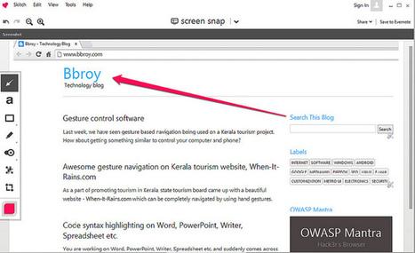 Screenshot post processing made easy   Bbroy   Scoop.it