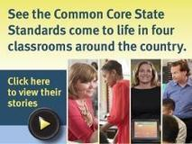 Four State Teachers of the Year teach lessons with a focus on the Common Core | College and Career-Ready Standards for School Leaders | Scoop.it
