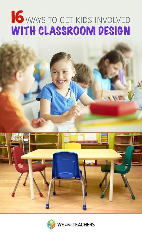 Get Students Involved in Classroom Design | Teacher's corner | Scoop.it