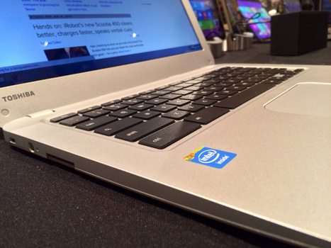 Toshiba Chromebook hands-on: A solid effort with more roominess ... | Google Tools | Scoop.it