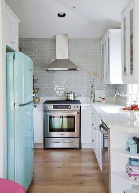 27 Brilliant Small Kitchen Design Ideas | Kitchens | Scoop.it