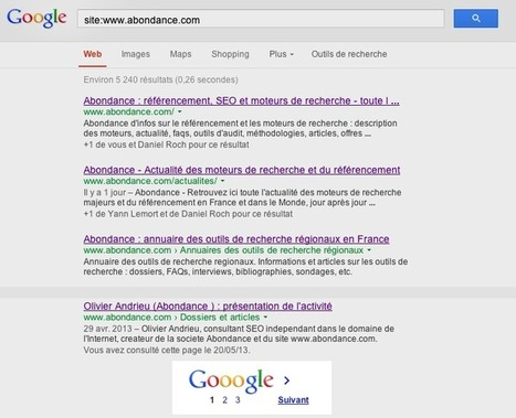 "Google : bug sur la syntaxe ""site:"" | Geeks | Scoop.it"
