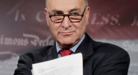 Chuck Schumer says hes losing sleep over gay rights amendment - Politico | immigration | Scoop.it