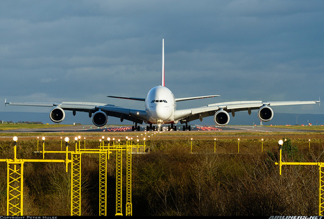 Photos: Airbus A380-861 Emirates in Manchester | Airliners | Scoop.it