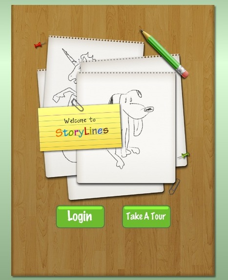 StoryLines - a conversation with pictures | Explore Ed Tech | Scoop.it