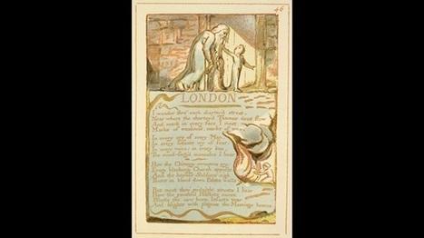 Looking at the manuscript of William Blakes London | Romanticism | Scoop.it