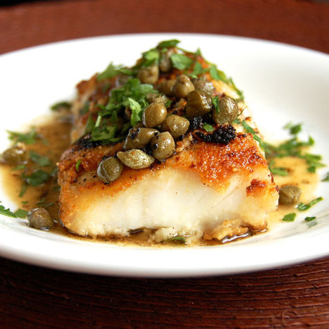 #HealthyRecipe // Simple Cod Piccata ( A Tasty and Easy Cod Recipe) | diet | Scoop.it