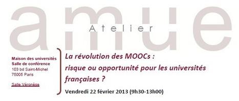 Atelier de l'AMUE sur les MOOCs : un cours en ligne, combien ça coûte, au juste ? | Blog Challenge Administration 2020 | #ITyPA Bruno Tison | Scoop.it