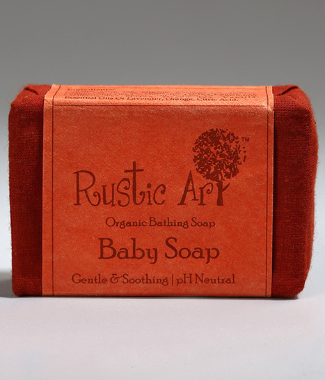 Rustic Art Baby Soap 100gm – Keep baby skin soft and smooth | Health Care | Scoop.it