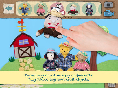 STORY MAKER & RECORDER: Play School Art Maker for iPad   Digital Tools for the Primary School Classroom   Scoop.it