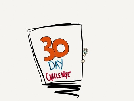 30 Day Drawing Challenge Homework | tips4teaching | Scoop.it