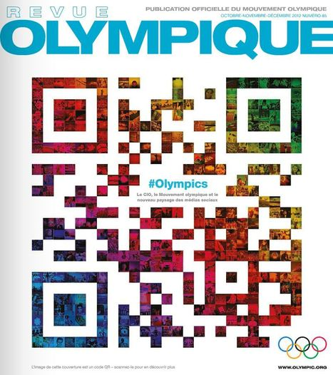 QRcode mosaique pour La Revue Olympique | QRdressCode | Scoop.it
