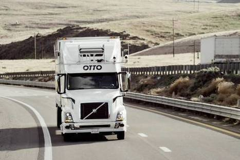 Autonomous-Driving Venture Targets Heavy Trucks | The Robot Times | Scoop.it