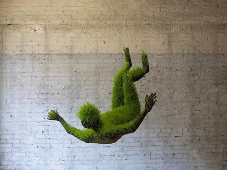 Mathilde Roussel ~ lives of grass  - #Art #Sculpture #Eco | Visual Art - 21st century sculpture | Scoop.it