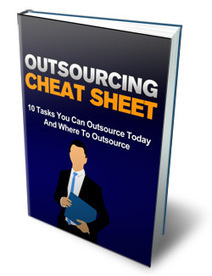 Outsourcing Cheat Sheet | Bookstore space | articles and ebook | Scoop.it