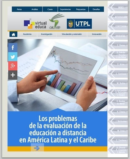 Libro: Los problemas de la evaluación de la educación a distancia en América Latina y el Caribe   Libros y Biblioteca para vos   Scoop.it