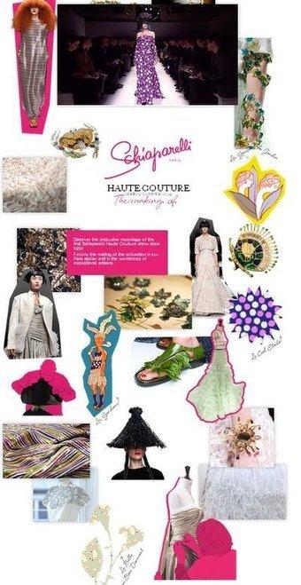 Schiaparelli celebrates couture relaunch with digital scrapbook | Digital News | Scoop.it