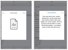 Add Awesome Fonts to Your iPad Using AnyFont App | Go Go Learning | Scoop.it