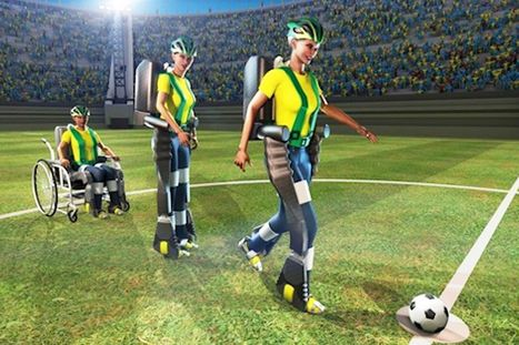 Robot suit will allow paralysed teen to kick of the World Cup in Brazil | Robolution Capital | Scoop.it