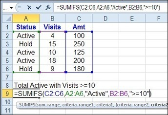 Excel SUMIFS Sum With Multiple Criteria « Contextures Blog | Excel is Fun | Scoop.it