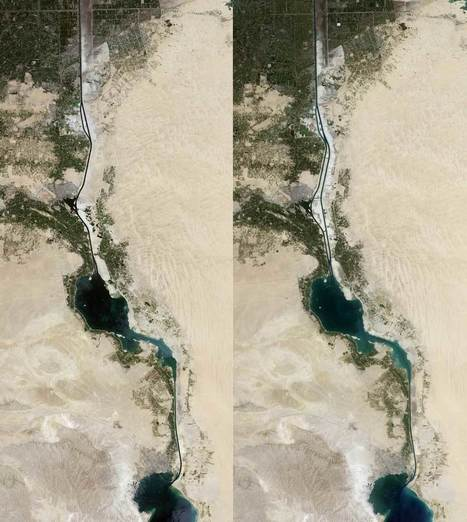 Is the new Suez Canal encouraging the spread of invasive species? - Geographical | Lorraine's Environmental Change &  Management | Scoop.it