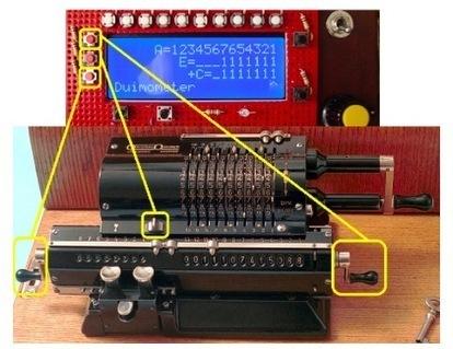A pinwheel calculator emulated by Arduino | Raspberry Pi | Scoop.it