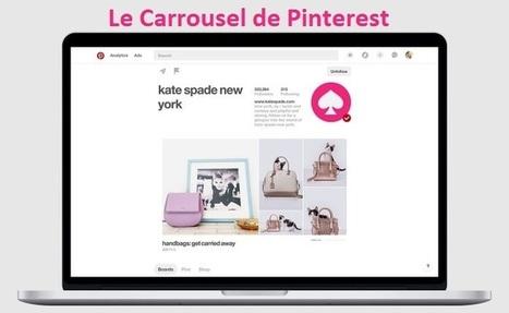 Pinterest lance Showcase : un Carrousel de Pins pour les Pros | Social Media in organizations | Scoop.it