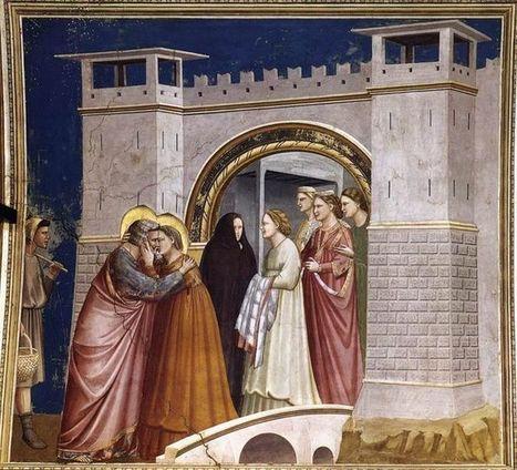 Giotto: l'incontro presso la porta aurea | Capire l'arte | Scoop.it