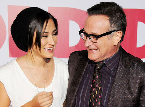 Zelda Williams Pays Tribute to Father Robin Williams in Honor of World Mental Health Day | Mental Health and Teens | Scoop.it