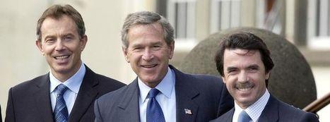 #Historia #sumision La conversación en la que #Bush hacía la pelota a #Blair mientras decidían invadir #Irak | Noticias en español | Scoop.it