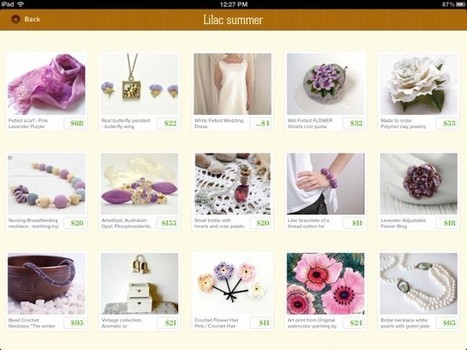 Etsy Fans: Check Out I Heart Etsy For An All New Way To Browse Etsy On Your iPad | Winning The Internet | Scoop.it