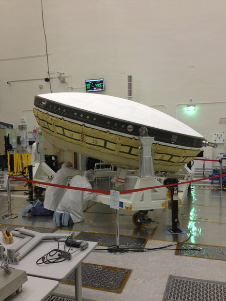 Incredible Technology: How to Land on Mars with Inflatable Flying Saucers | Space matters | Scoop.it