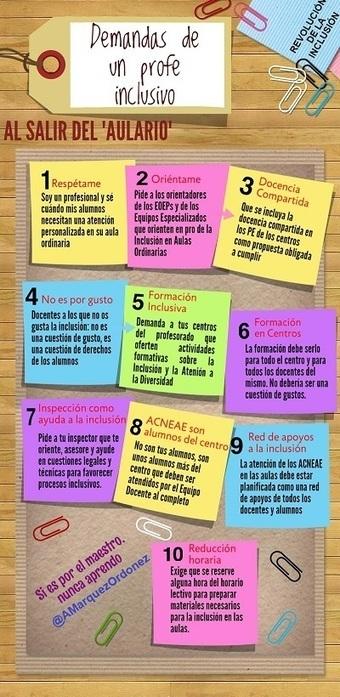 """Maestros de Pedagogía Inclusiva: ¡salid del """"aulario""""!   El Blog.Valentín.Rodríguez   Scoop.it"""