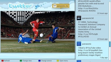 Panasonic's new Social TV app puts Twitter and Facebook next to your TV shows | Social1 | Scoop.it
