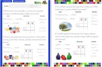 Colección de problemas para 1º de Primaria en PDF e Interactivos ideales para PDI - Orientacion Andujar | Materiales de Orientación Andújar | Scoop.it